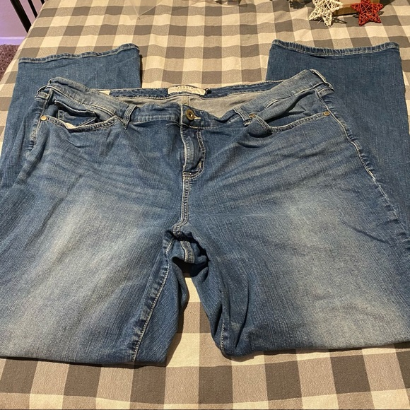 Torrid First at Fit Slim Boot Cut Jeans 22 T